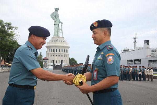 Wakil Komandan Lantamal V Hadiri Apel Khusus Koamada II