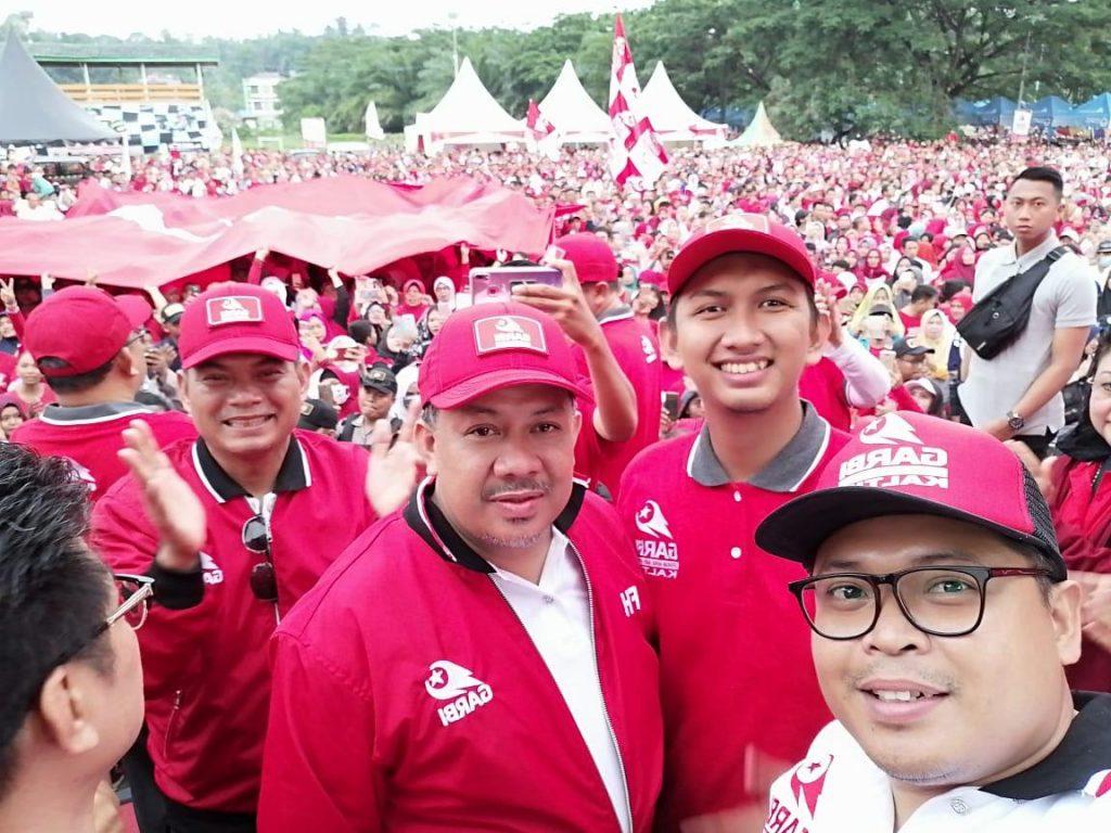 Fahri Hamzah Deklarasikan Gerakan Arah Baru Indonesia di Samarinda