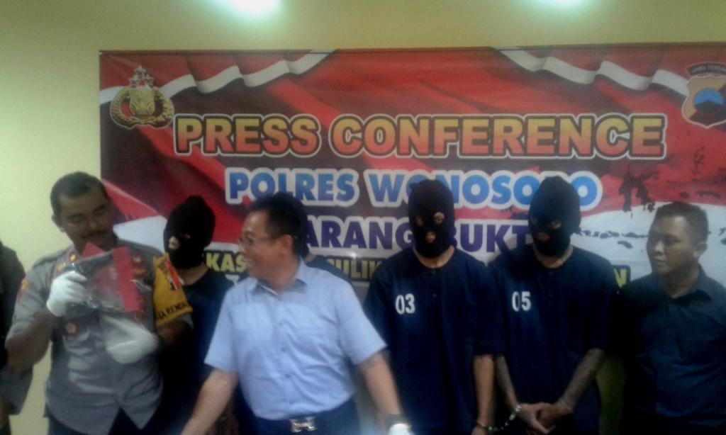 Ini Alasan Pelaku Bertindak Menculik disertai Pencurian di Wonosobo