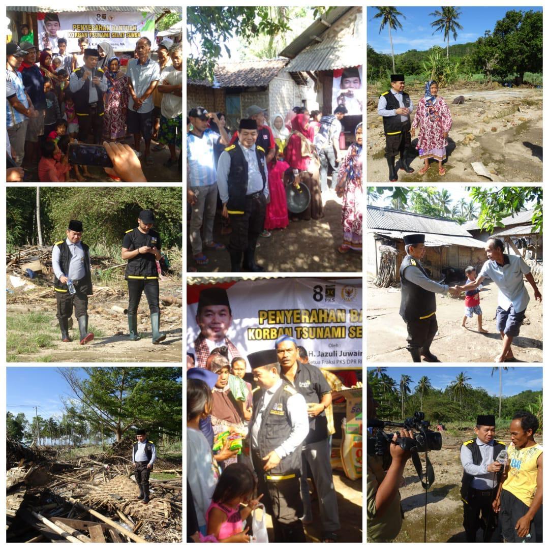 Jazuli Pastikan Rehabilitasi Pasca Tsunami Selat Sunda Dilakukan Pemerintah