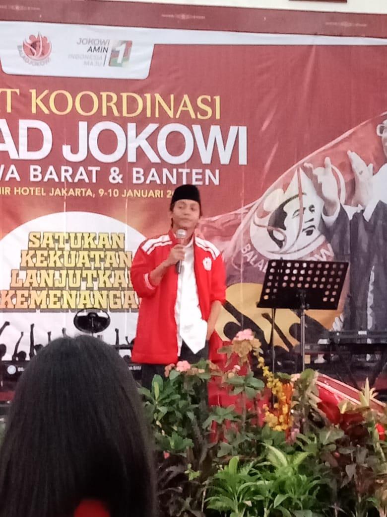 Raja Juli Antoni Wakil Sekretaris TKN: Relawan Balad Jokowi Harus Tangkal Hoax