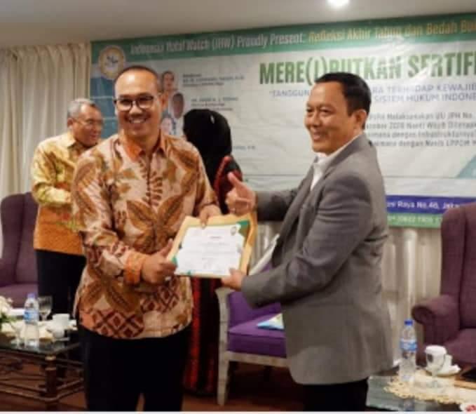 Direktur IHW, Ikhsan Abdullah : Sertifikasi Halal Tetap di LPPOM MUI
