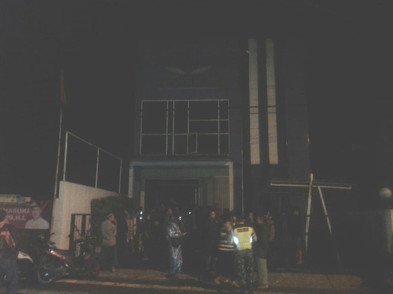 Kebakaran di CU Lestari Wonosobo, Ditaksir Kerugiannya Capai 75 juta