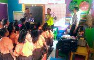 Polsanak Ala Polsek Leksono di TK Mardi Putra