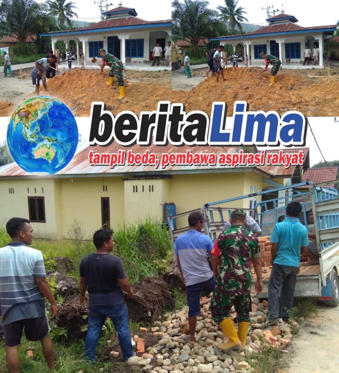 Babinsa Koramil 10/Tanjung Medan, Komsos Di Desa Persiapan Suka Jadi