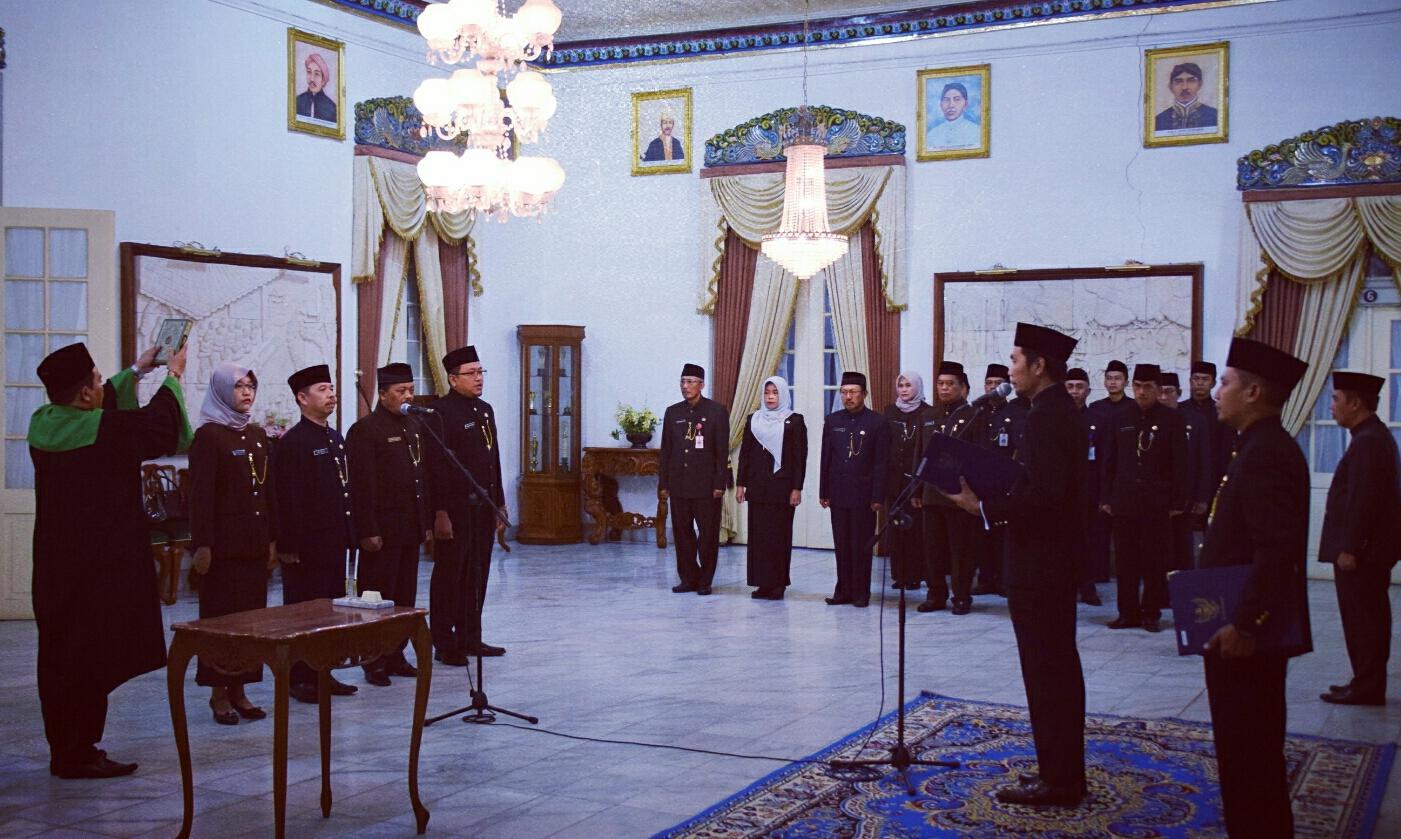Bupati Madiun Lantik Pejabat Administrator Dan Pejabat Pengawas