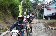 Naik Trail, Bupati Wonosobo Sambangi Daerah Terpencil