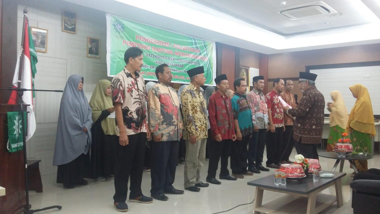 Hasan Umar dan Atika Pawelori Pimpin Ranting Muhammadiyah dan Aisyiah Katimbang Makassar