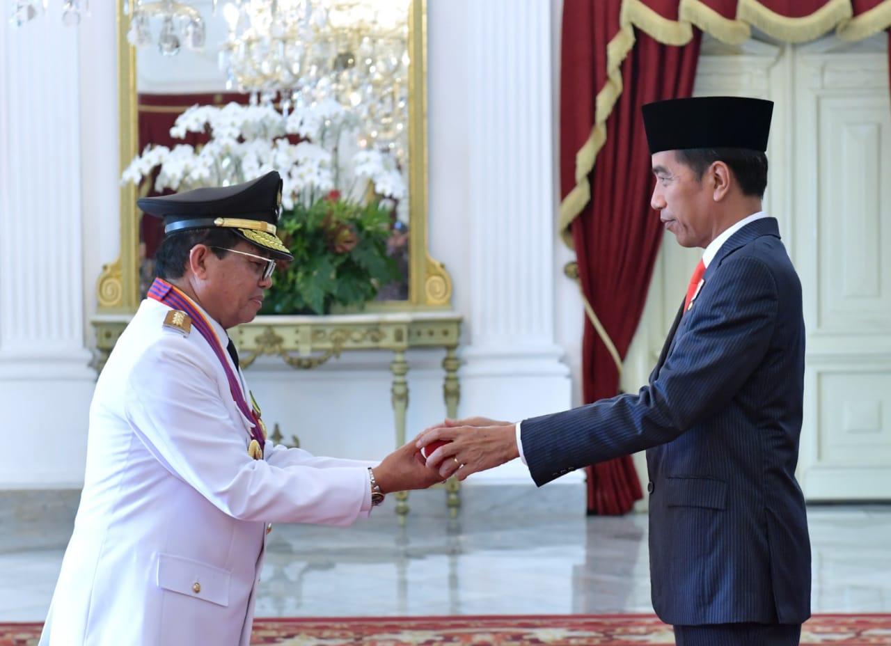 Presiden Jokowi Doakan Kesembuhan untuk Ibu Ani Yudhoyono