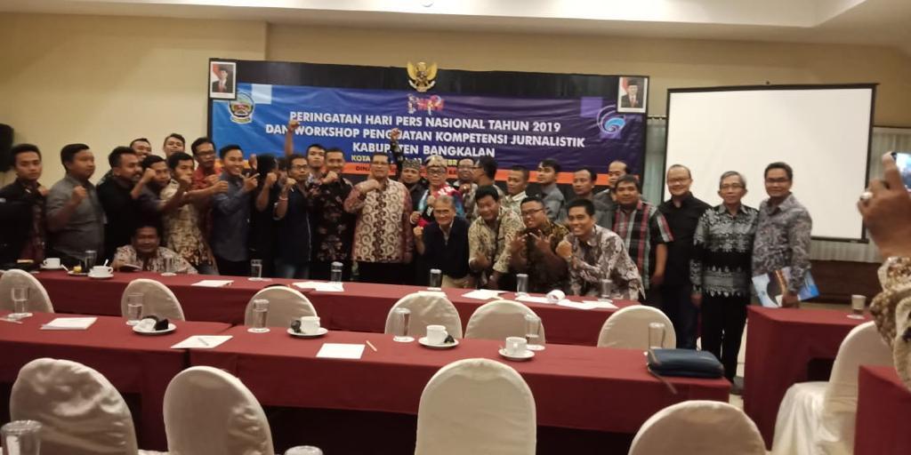 Difasilitasi Pemkab, Kuli Tinta di Bangkalan Ikuti Penguatan Kompetensi Jurnalistik