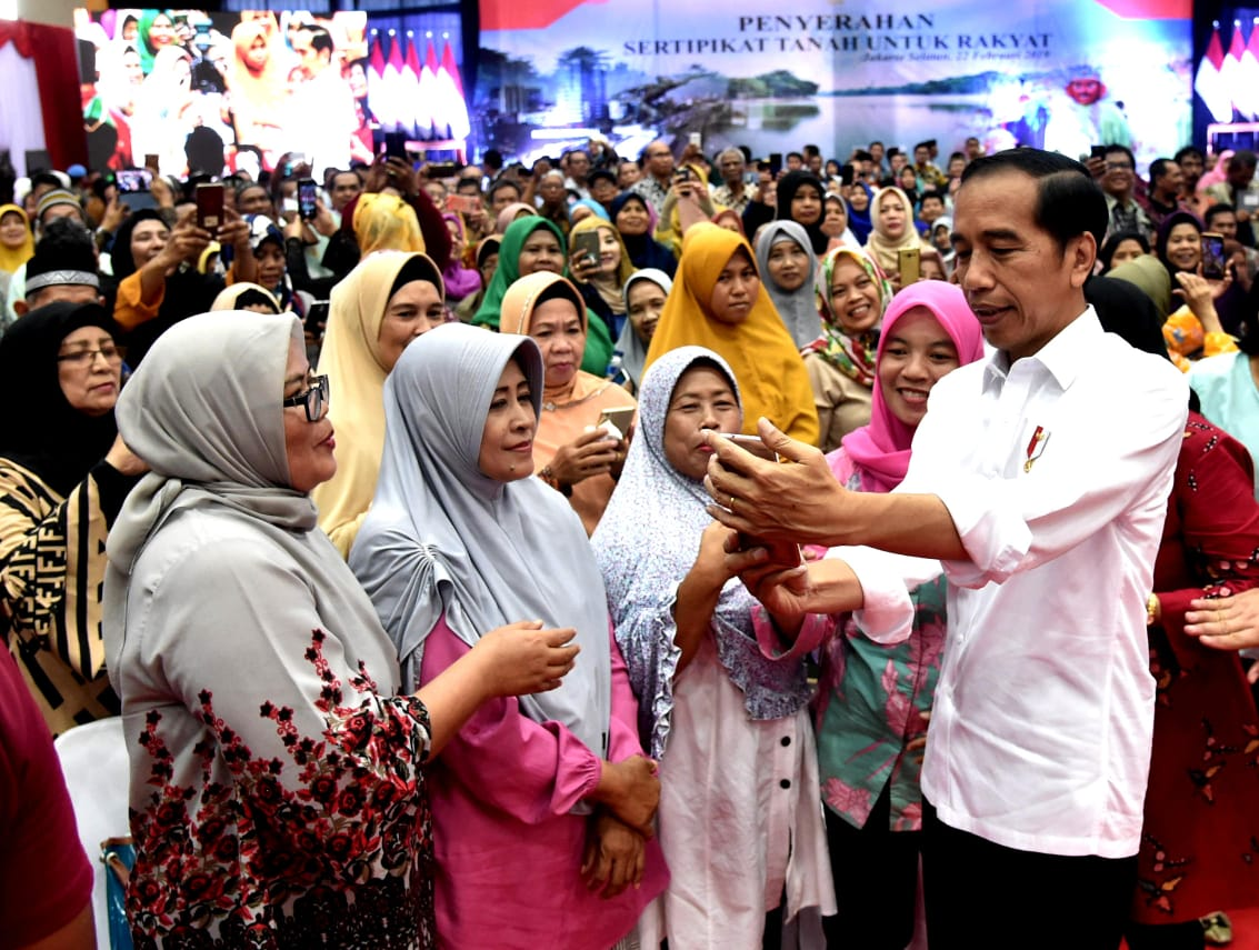 Presiden Pastikan Program Sertifikasi Lahan di Indonesia Akan Diteruskan