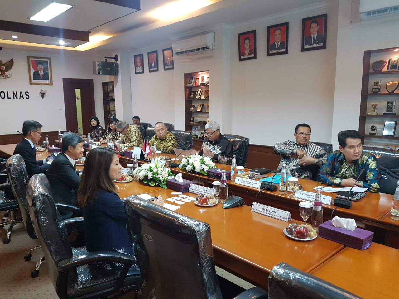 Kompolnas Terima Delegasi ICAC Hongkong