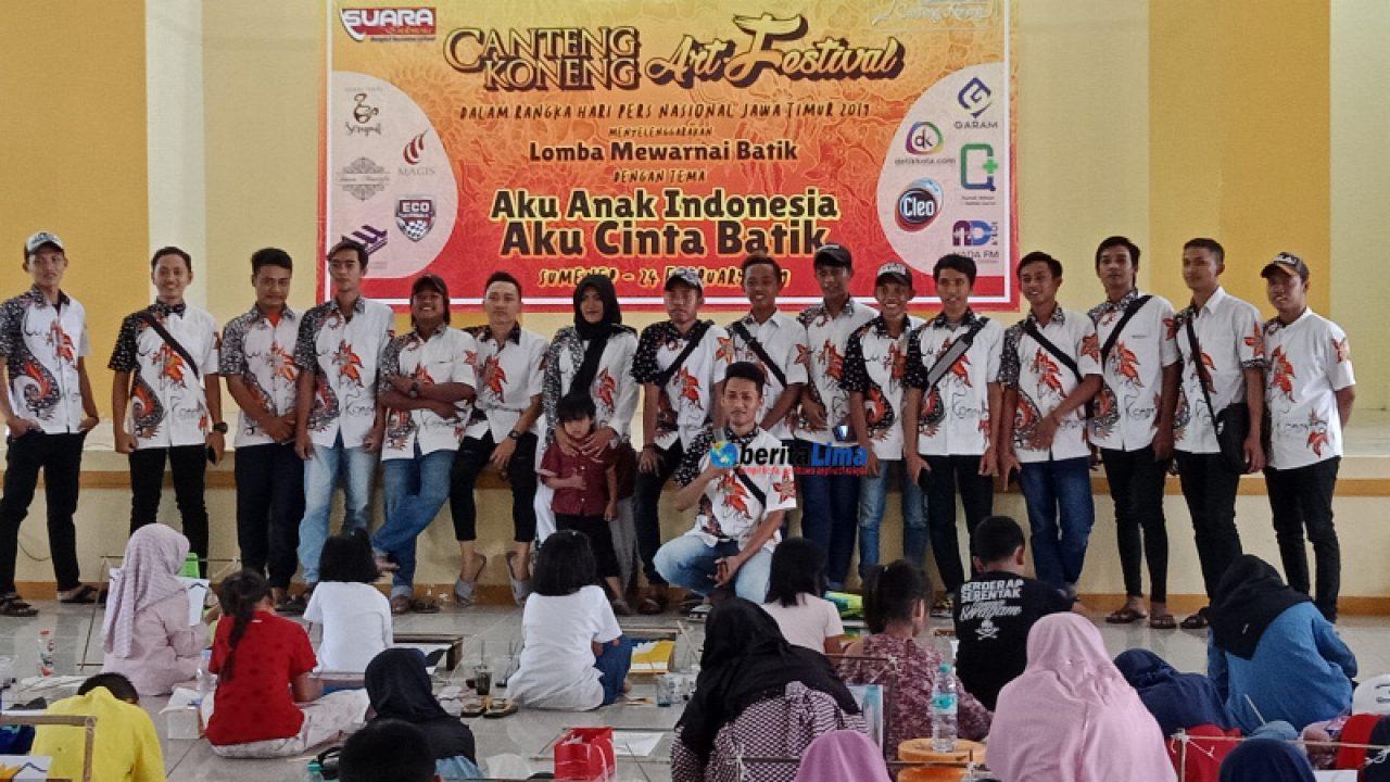 Ratusan Anak Di Sumenep Ikut Festival Mewarnai Dengan Nuansa