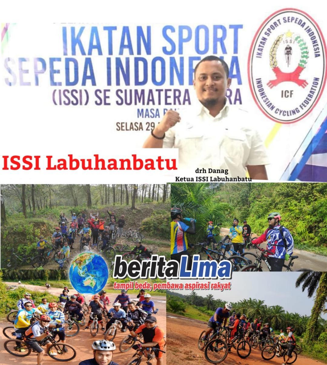 ISSI Labuhanbatu Jalin Silaturrahmi Dengan Berbagai Club Sepeda