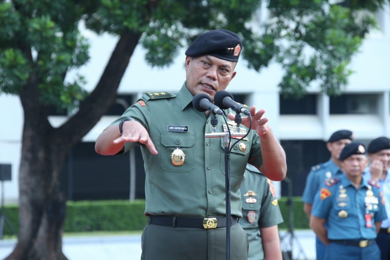 Kasum TNI :  Upacara Bendera Bentuk Patriotisme Terhadap Negara