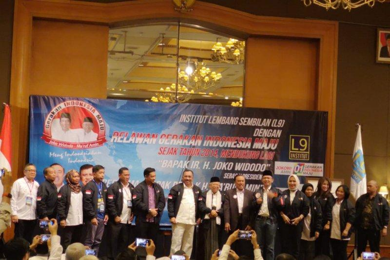 Kukuhkan IL9, Amin Targetkan Raih Suara Terbanyak di Jawa Barat
