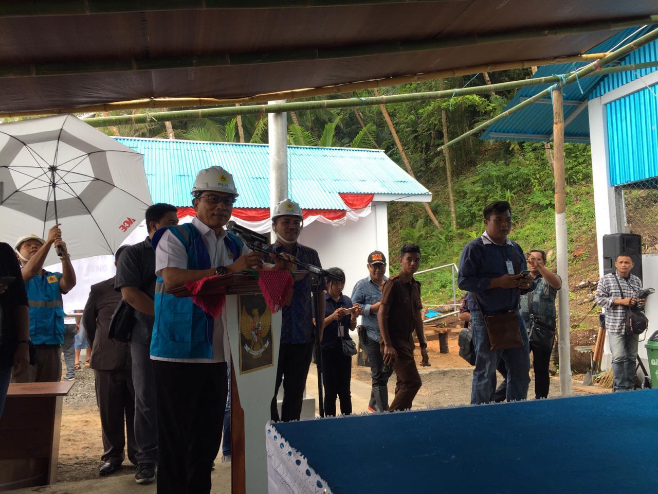Sambangi Ujung Utara Indonesia, Moeldoko Resmikan PLTD Bukide dan RS Liung Paduli