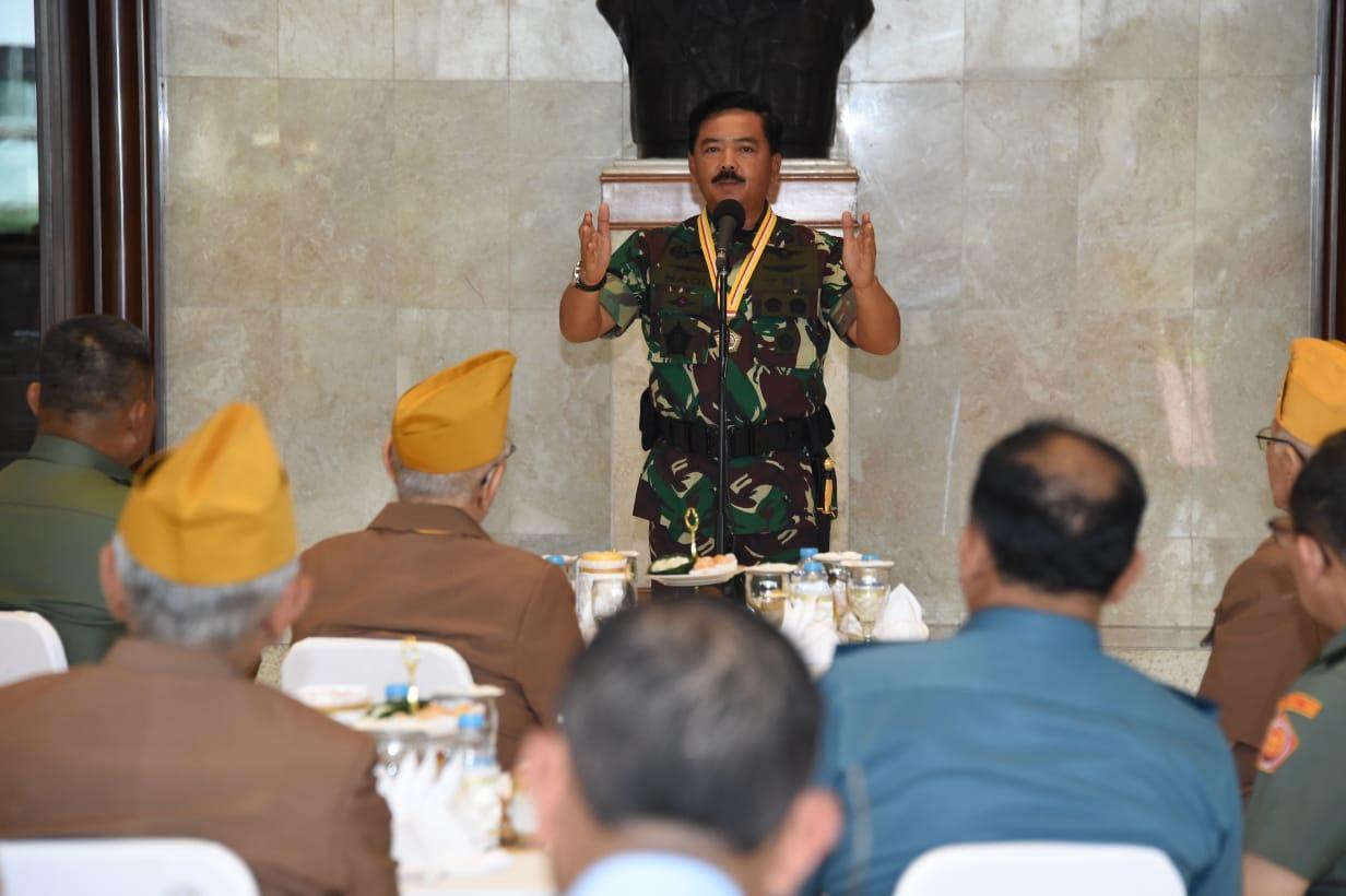 Panglima TNI:  Tanda Kehormatan LVRI Simbol Tanggung Jawab Menjaga NKRI