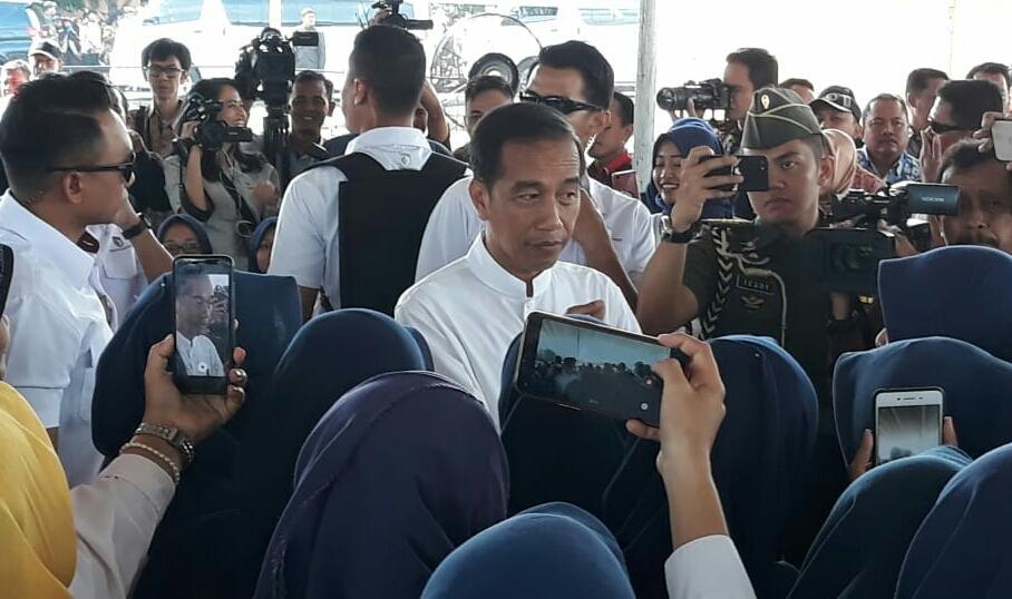 Presiden Jokowi Hadiri Peluncuran Mekaar Di Magetan