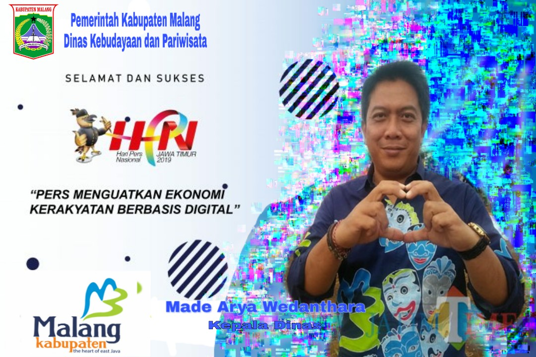 Disbudpar Kabupaten Malang 'Pers Menguatkan Ekonomi Kerakyatan Berbasis Digital'