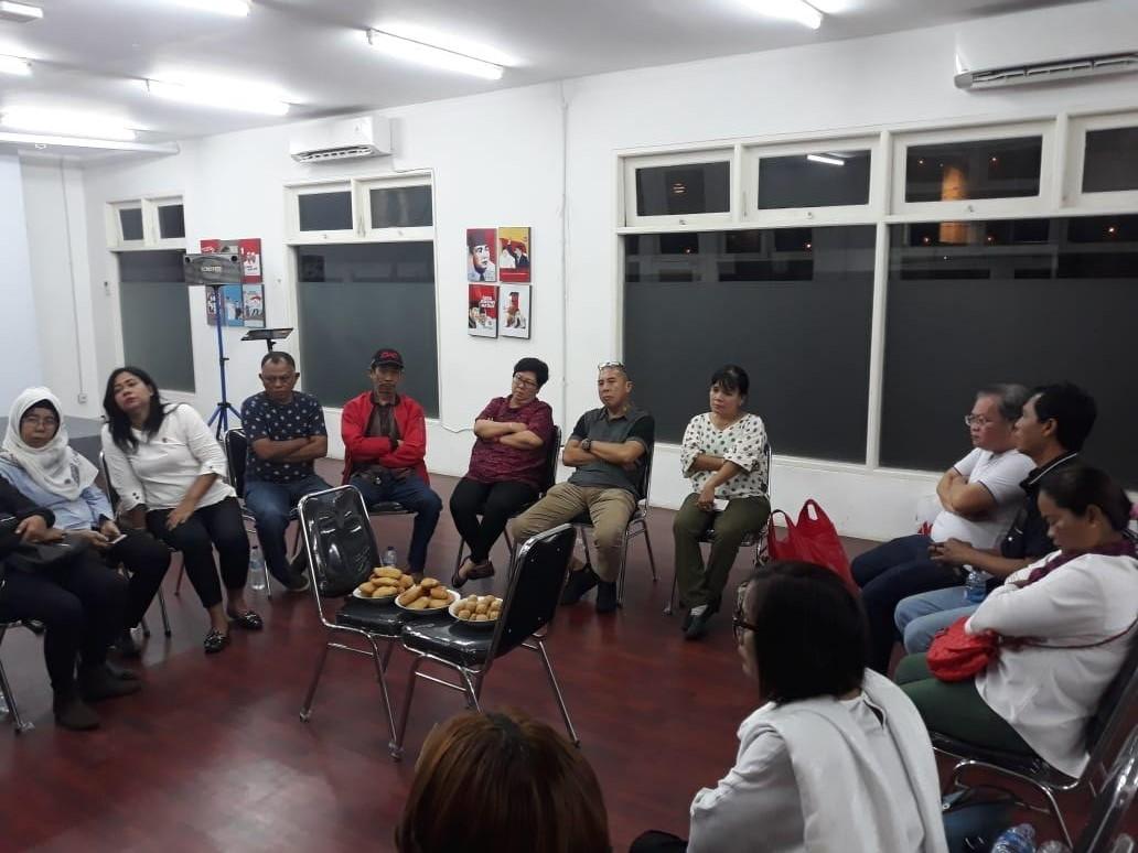 Pertemuan Koordinator Posko Relawan Jokowi di Jakarta