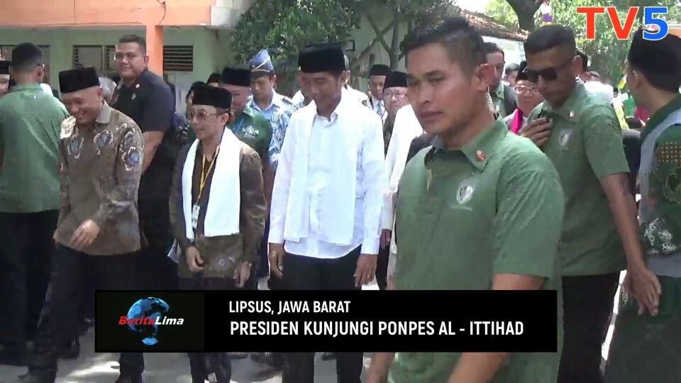 Rafi Digendong Presiden Di Cianjur