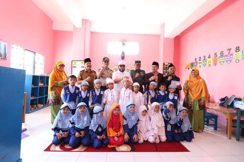 Resmikan Gedung PAUD IT Al Hasanah, Walikota Helmi Ajak Sukseskan Bengkulu Religius