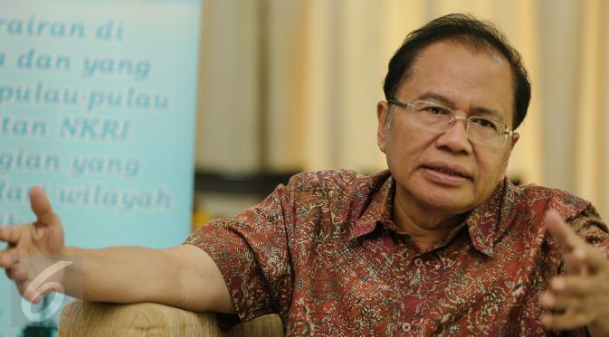 Rizal Ramli: Dana Desa Perintah UU, Bukan Dari Presiden Jokowi