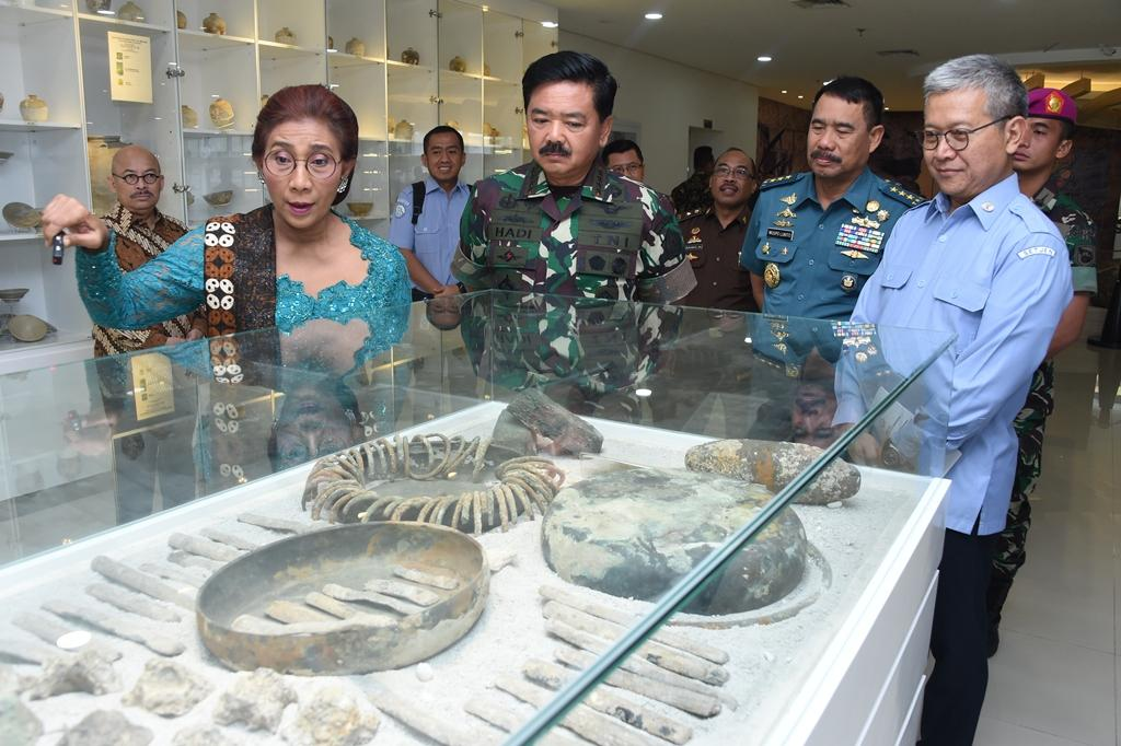 Sinergi TNI – KKP Amankan Kekayaan Laut Indonesia
