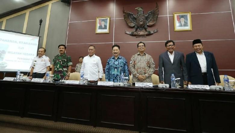 Soal UUD 1945, Lemkaji Minta Masukan Panglima TNI, Menhan dan Gubernur Lemhanas