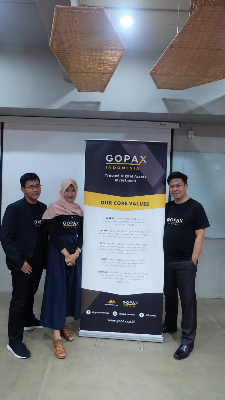 Magna digital lab dan streami inc, hadirkan layanan investasi aset digital terpercaya, Gopax Indonesia