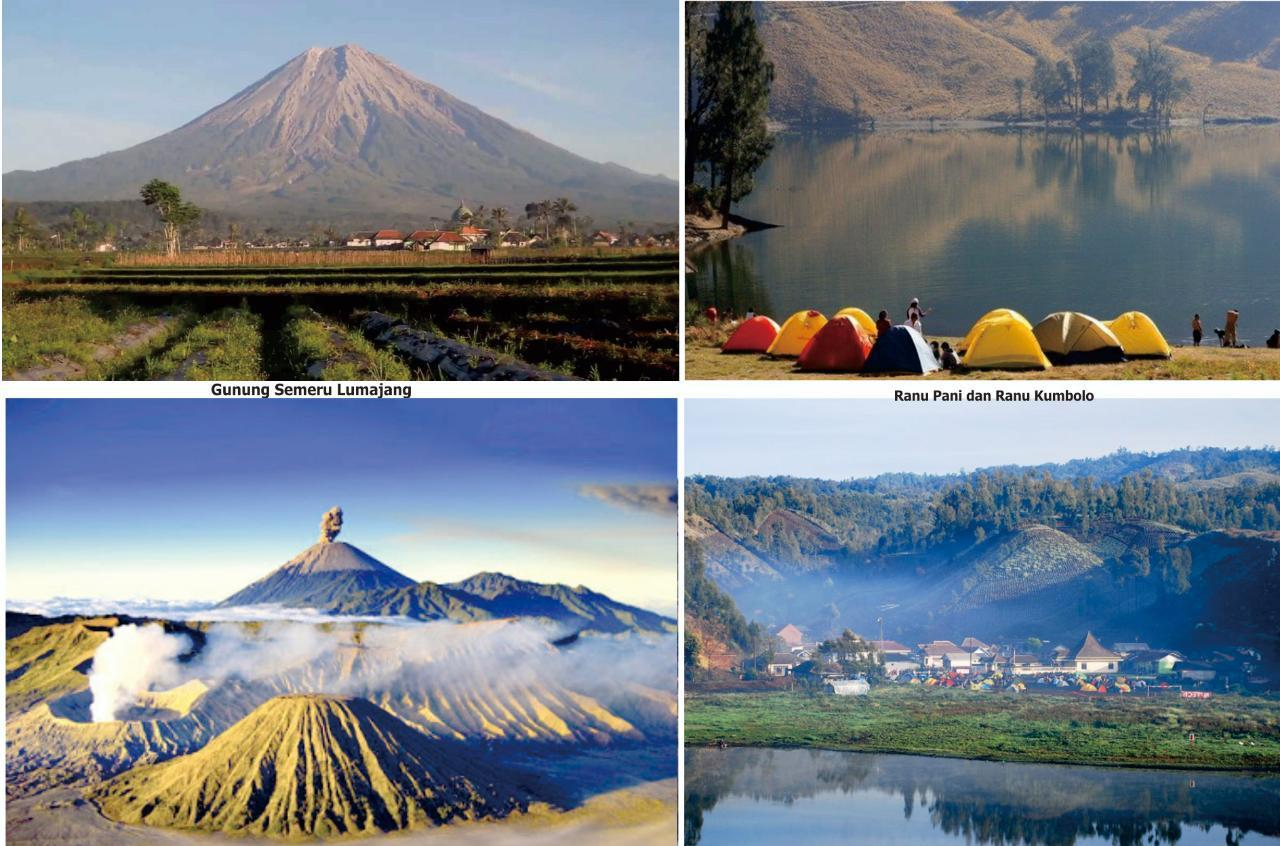 Menikmati Perjalanan Wisata Gunung Semeru Di Kabupaten Lumajang Beritalima Com