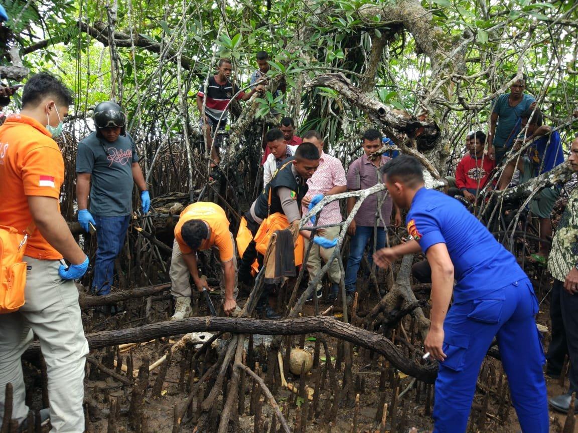 Mayat Samsudin Ditemukan di Pantai Malbufa, Kondisi Sudah Membusuk