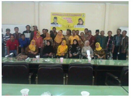 Tim Pemenangan Caleg DPRD Dapil 6 Vera Nawira Rapatkan Barisan