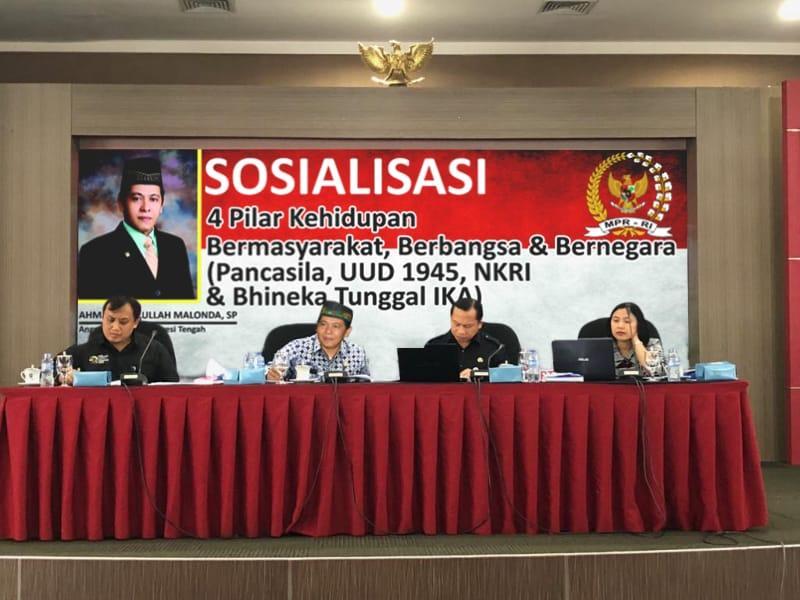 Anggota DPD Malonda: Beda Pilihan Boleh tapi Semua harus Kembali ke Ideologi Bangsa