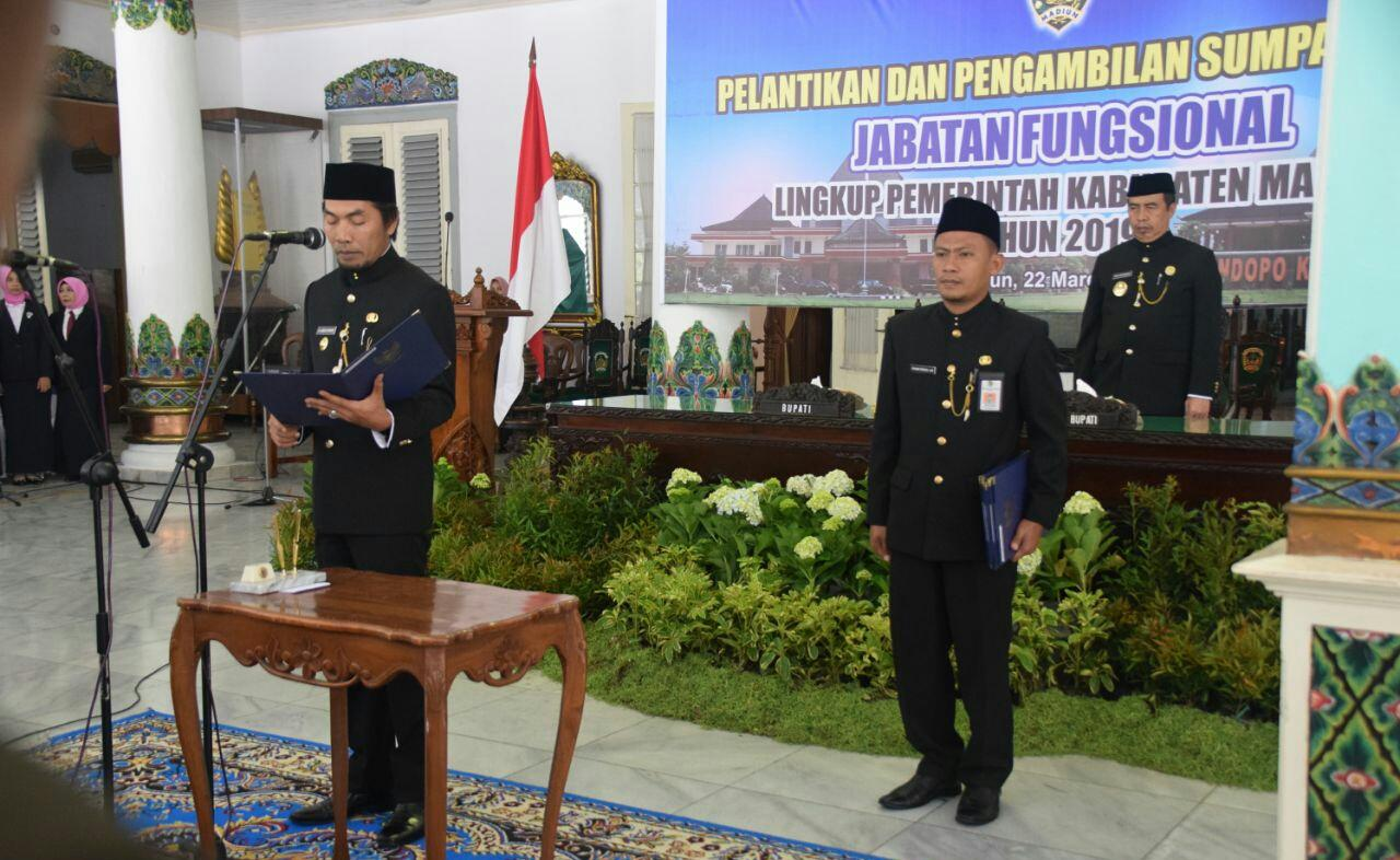 Bupati Madiun Lantik 260 Pejabat Fungsional