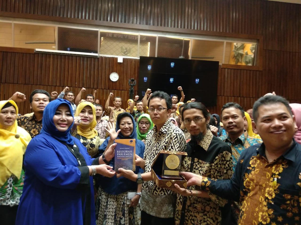 Fraksi Nasdem DPR RI Kawal Aspirasi Guru dan Pengajar Tidak Tetap se-Jawa Timur