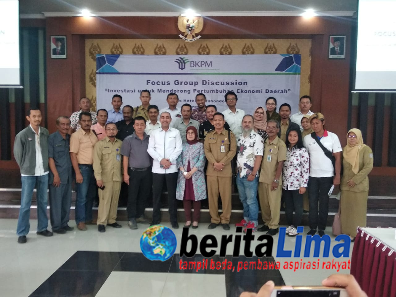 BKPM RI Bersama DPR RI Gelar FGD Promosi Penanaman Modal di Kabupaten Situbondo