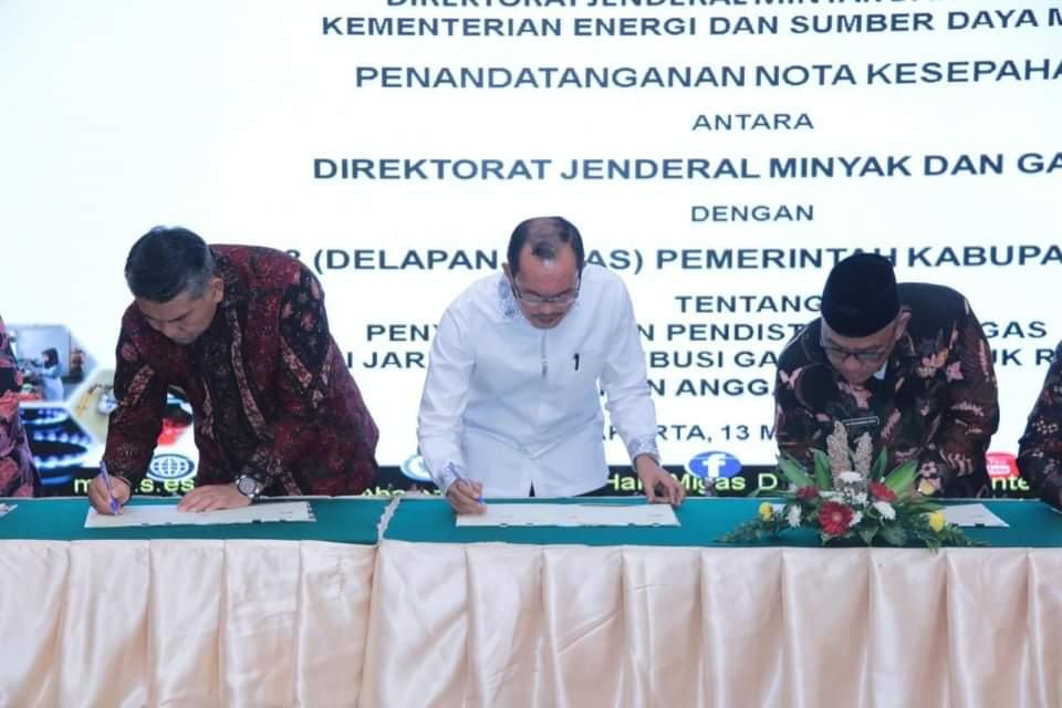 Walikota Palembang Beri Sambutan di Kementerian ESDM