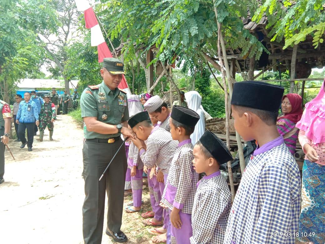Danrem 084 Bhaskara Jaya Tinjau Lokasi TMMD di Sumenep