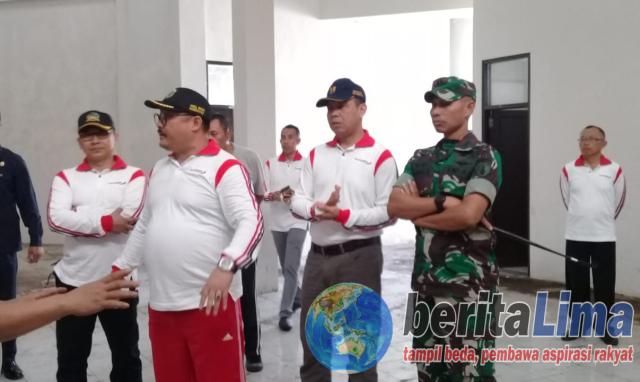 Wabub Irwan Geram, Bangunan Pasar Induk Bondowoso Dinilai Gagal Kontruksi