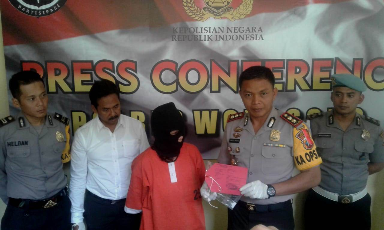 Akibat Rayuan, Tertangkap Satresnarkoba Polres Wonosobo
