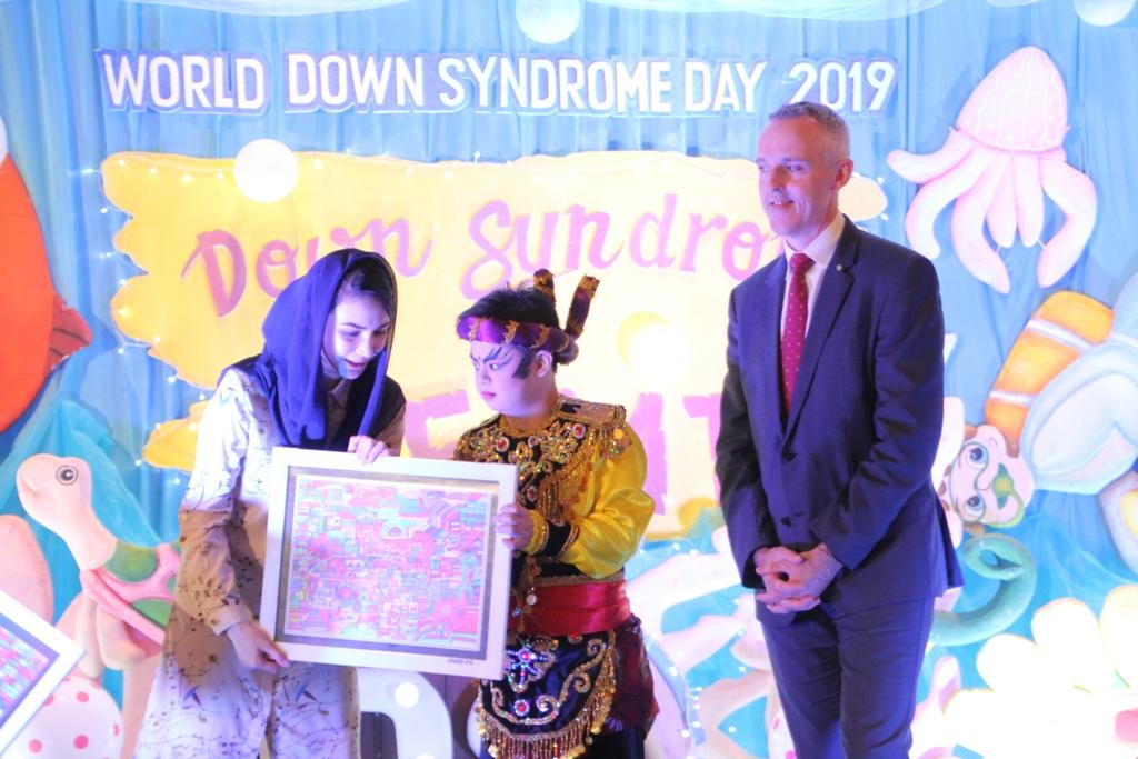 Peringati World Down Syndrome Day, Ketua TP PKK Arumi Ingatkan Pentingnya Support System