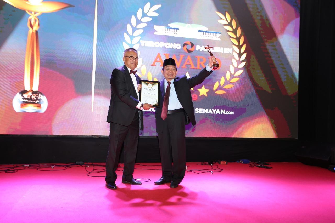 Jazuli Borong Penghargaan Teropong Parlemen Award 2019