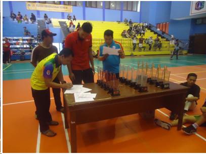 Kejuaraan Bola Voli Piala Wali Kota Selesai