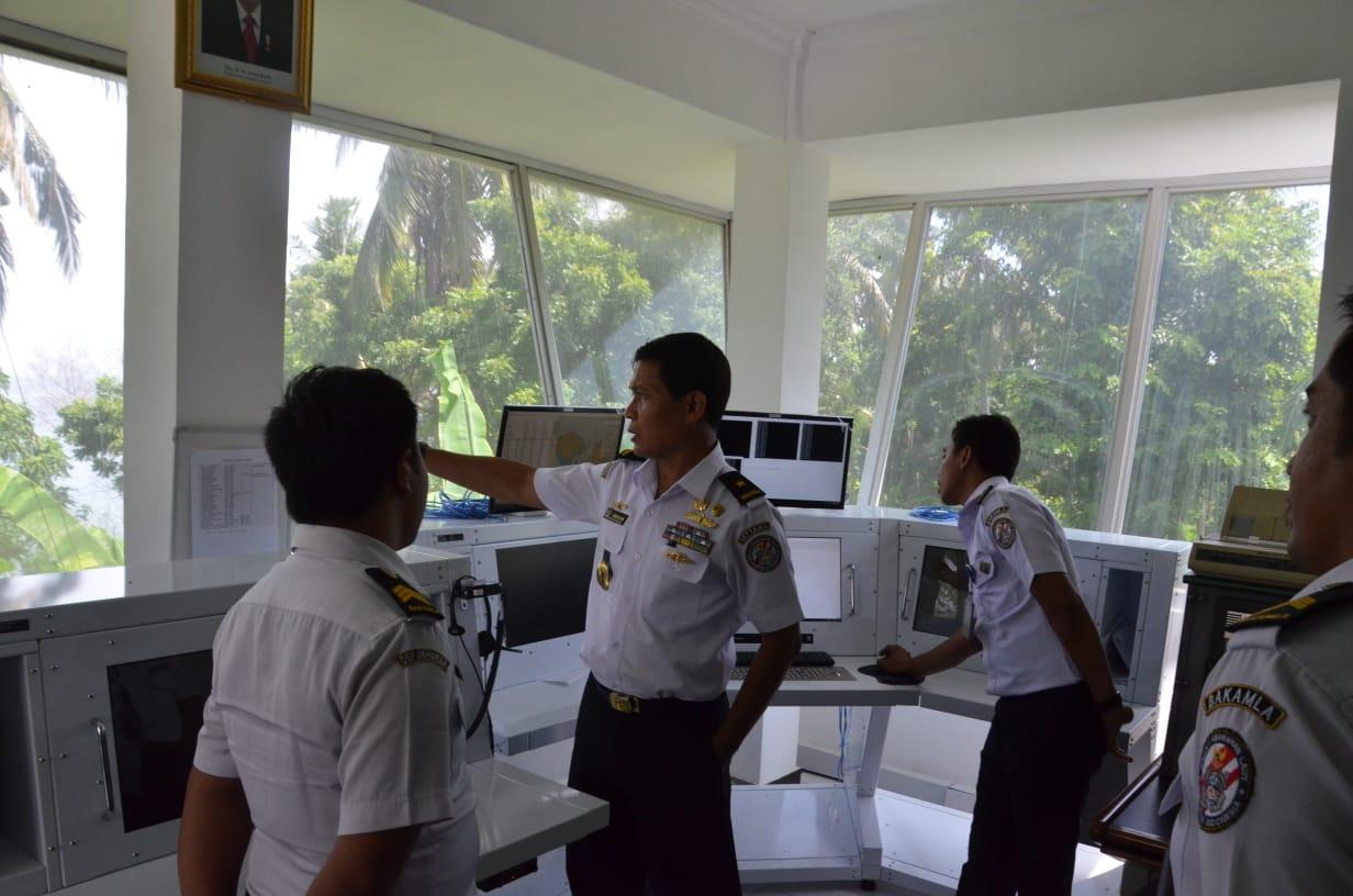Kepala Biro Sarpras Bakamla Tinjau Aset di SPKKL Bali