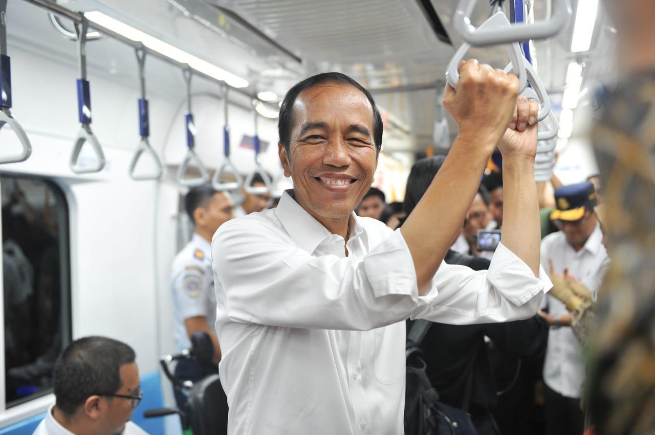 Kesan Presiden Jokowi Setelah Jajal MRT untuk Kali Ketiga