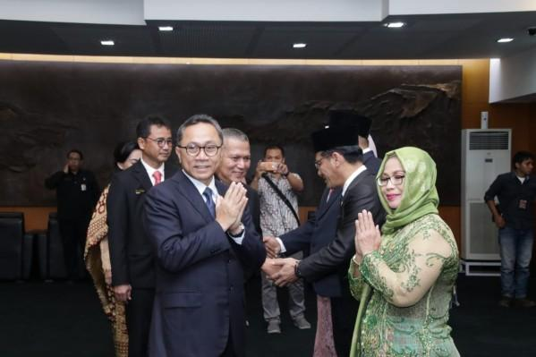 Ketua MPR RI Ajak Anggota Baru Kawal Demokrasi Konstitusional