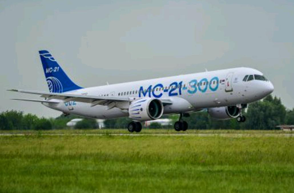 Keunggulan MC-21, Pesawat Rusia Yang Akan Digunakan Merpati Terbang Kembali