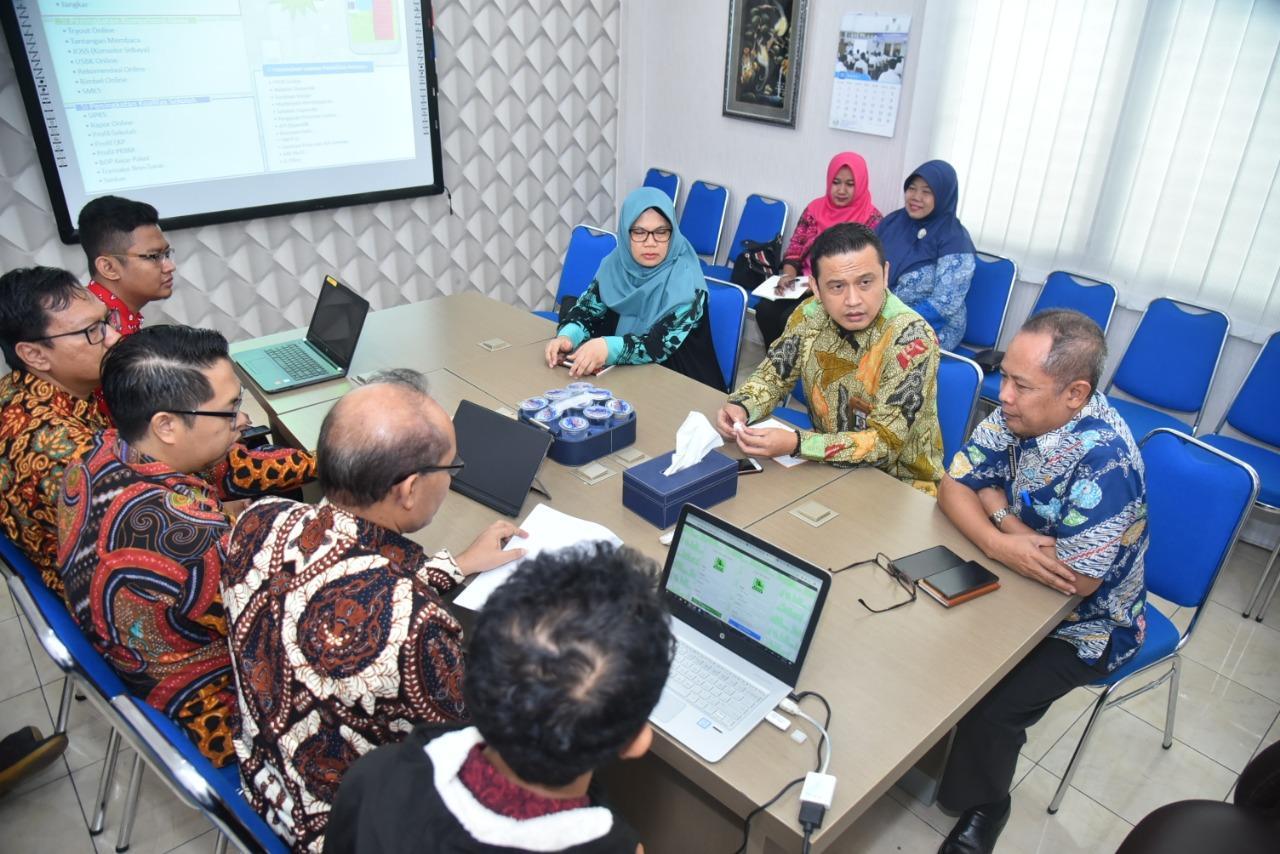 KPK Targetkan Pemkab/Pemkot se-Jatim Replikasi Sistem Informasi Tata Kelola Pendidikan Kota Surabaya